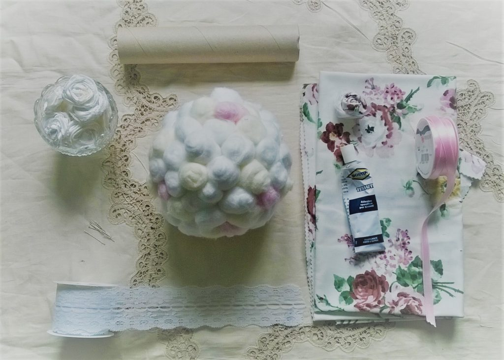 bouquet shabby chic tutorial