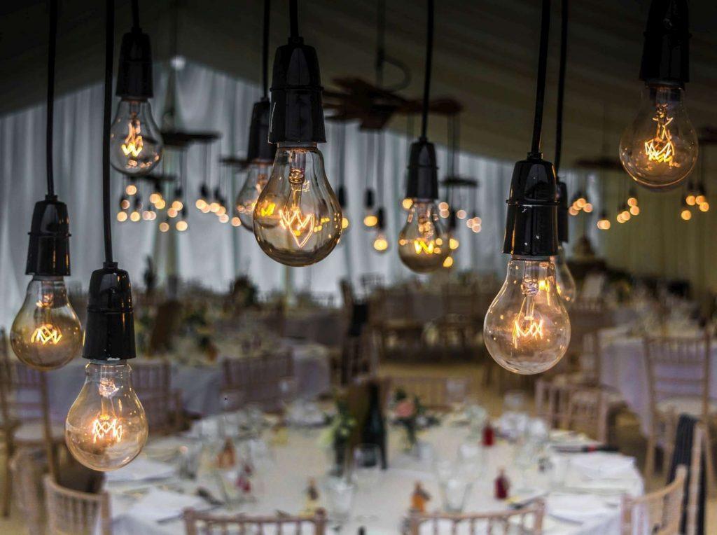luci led matrimonio