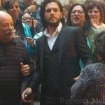 Kit Harigton a Napoli, Jon Snow è anche il re del Sud
