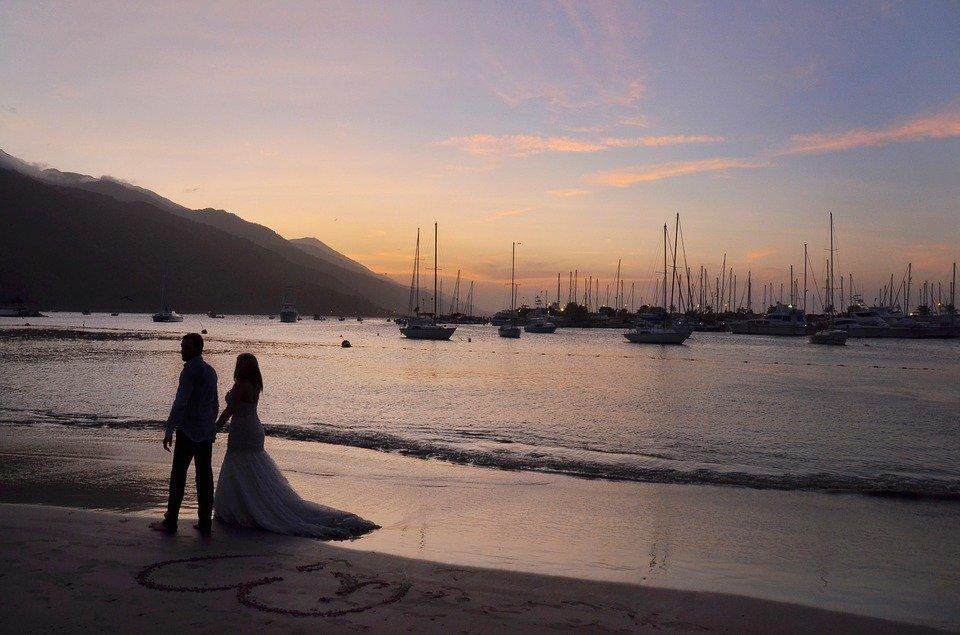 Matrimonio tema mare