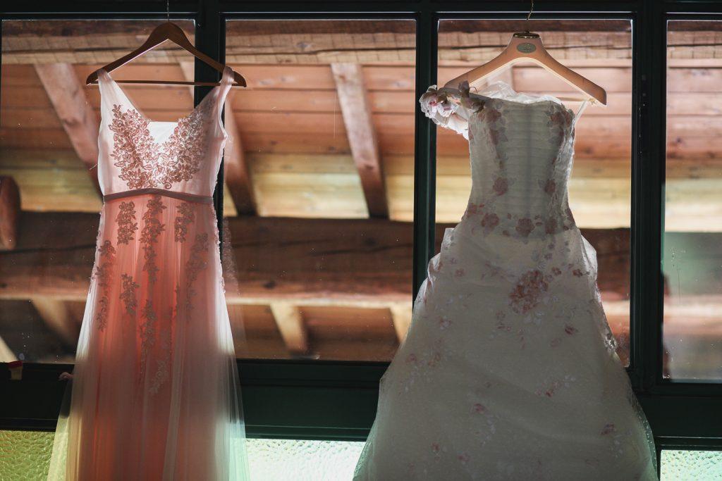 Accessorio abito da sposa appendino