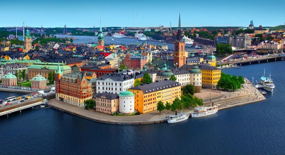 Viaggio di nozze in Scandinavia, Stoccolma