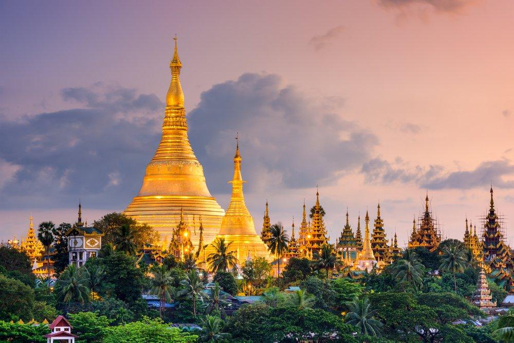 Viaggio di nozze in Myanmar, Rangoon
