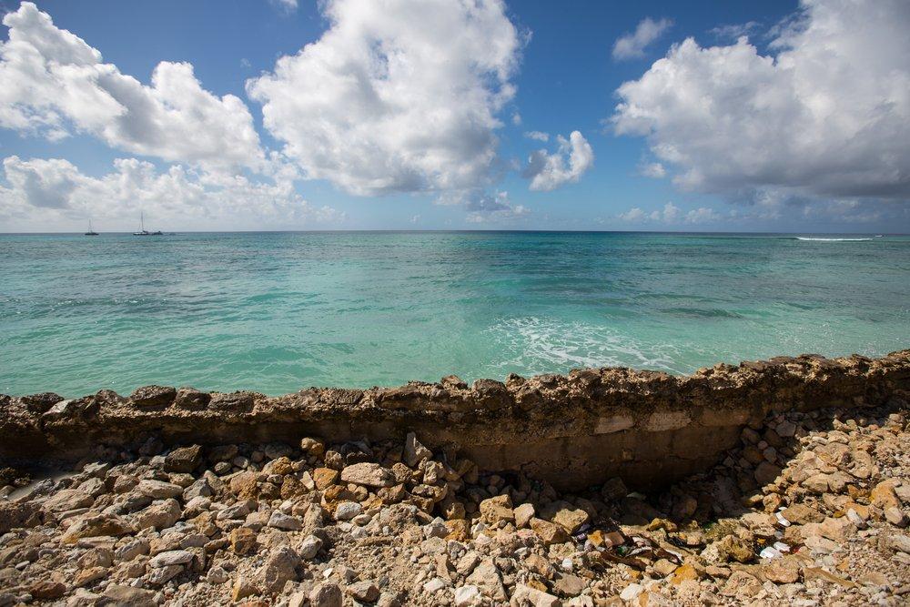 Turks & Caicos panorama e mare