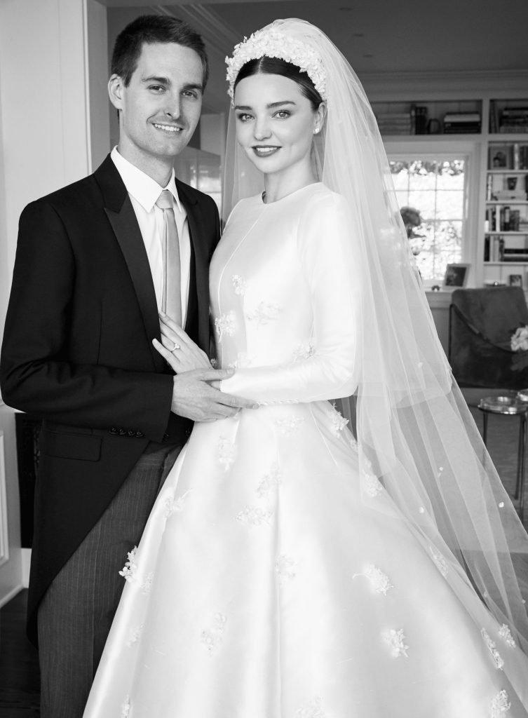 Matrimonio Miranda Kerr e Evan SPiegel