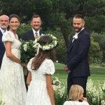Bianca Balti sposa in Dolce & Gabbana