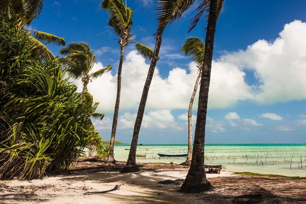 Viaggio di nozze a Kiribati