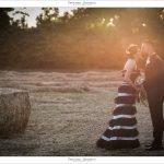 Matrimonio in bianco e nero: le nozze di Giada e Nycky
