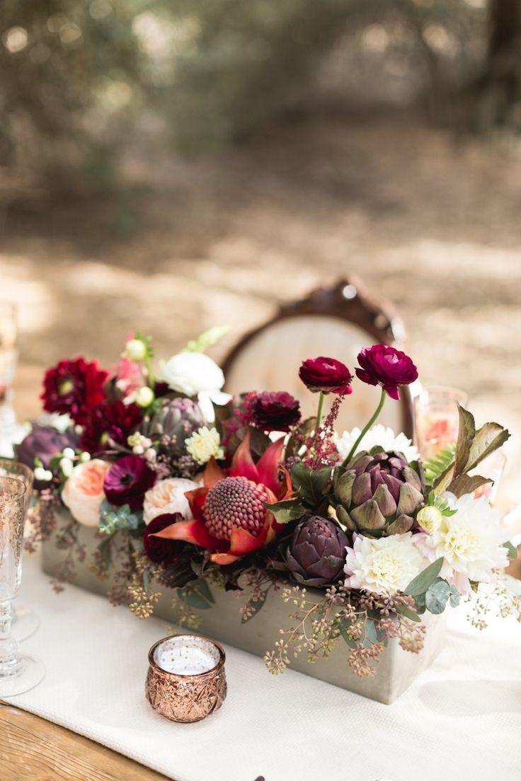 matrimonio color marsala