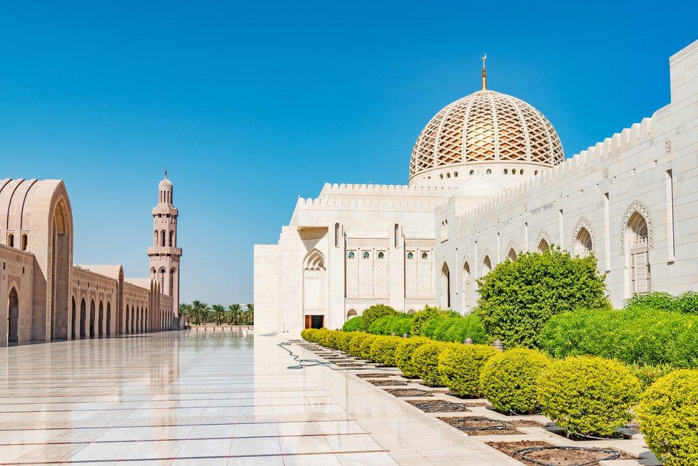 Viaggio di nozze in Oman, la moschea di Muscat