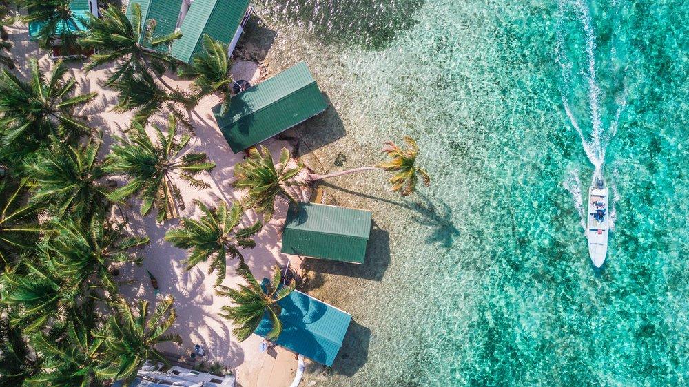 Viaggio di nozze in Belize, il mare e la spiaggia