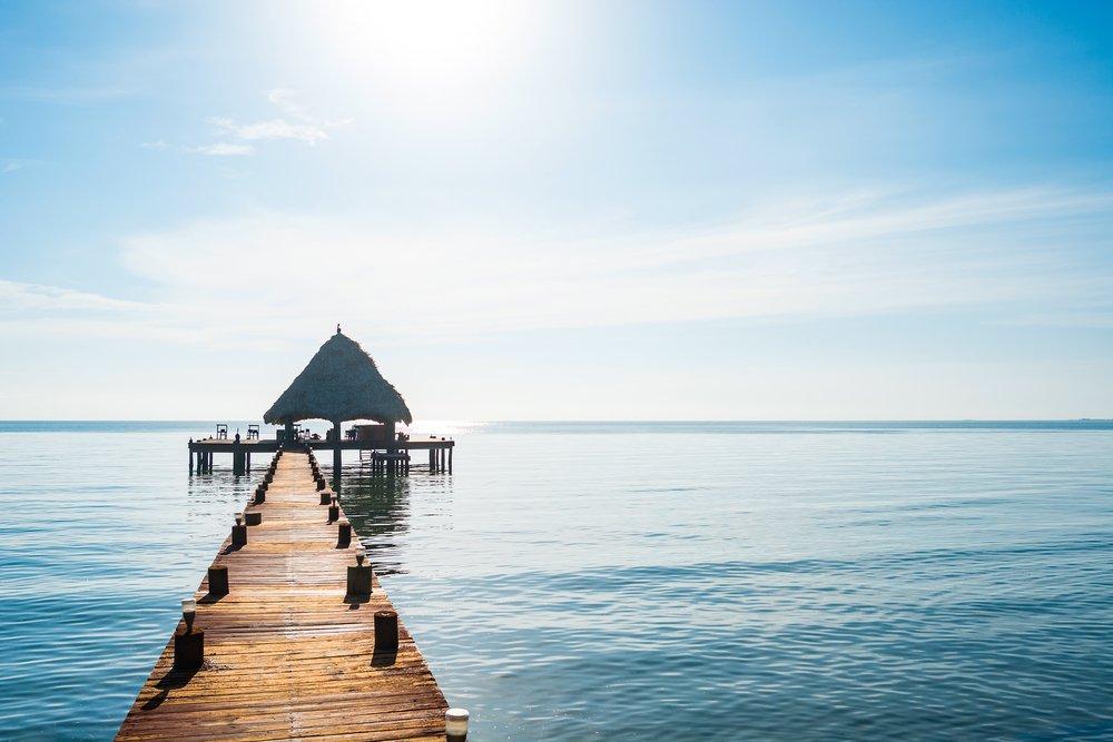 Viaggio di nozze in Belize, palafitta