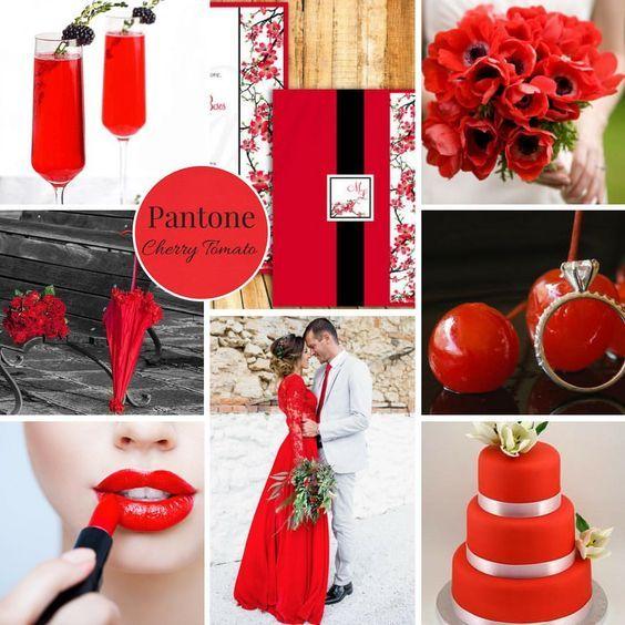 Matrimonio in rosso ispirazioni