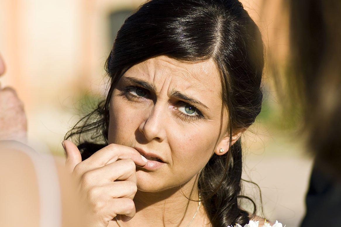 sposa ansiosa