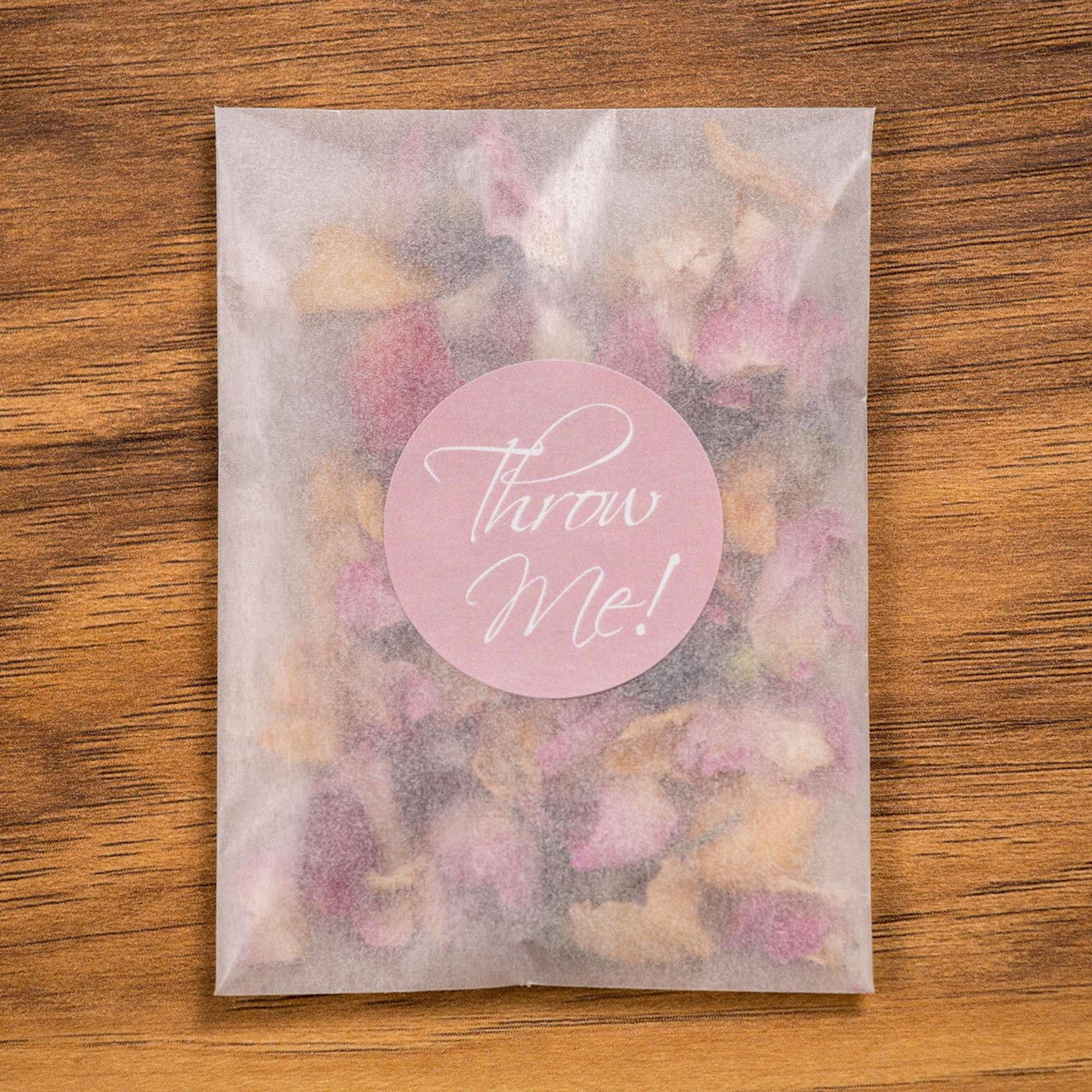 Set 20 pacchetti di petali essiccati