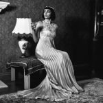 Lineadiluna: gli abiti da sposa firmati Francesca Saragaglia