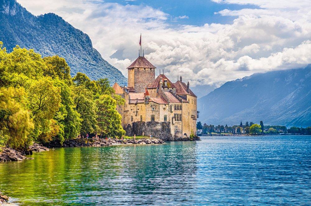 Viaggio di nozze in Svizzera, Montreux e il lago