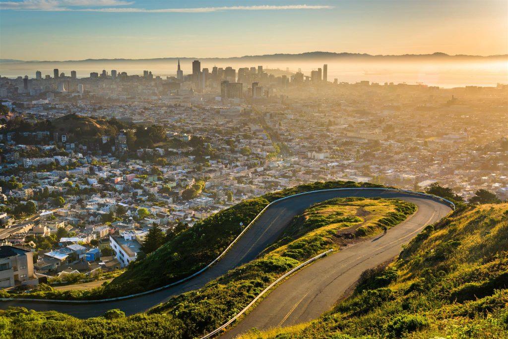 Viaggio di nozze in California, San Francisco