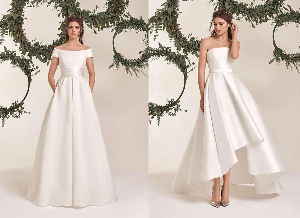 ac9a52ab3422 Atelier Emé 2019  collezione romantica per la sposa - Panorama Sposi