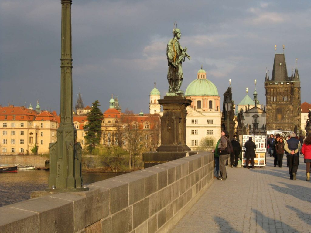 matrimonio a Praga ponte carlo