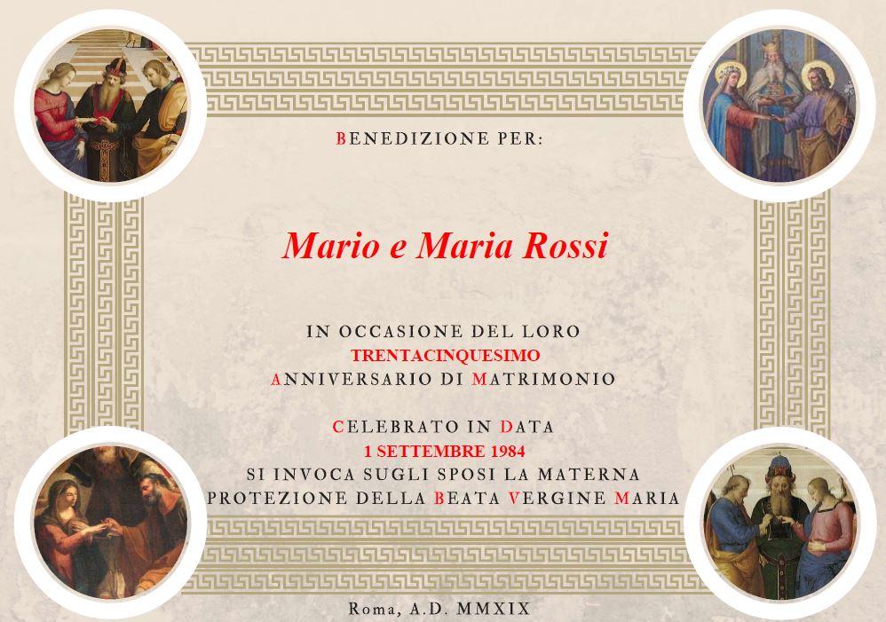 Anniversario Di Matrimonio Benedizione.Pdf Benedizione Anniversario Matrimonio Panorama Sposi