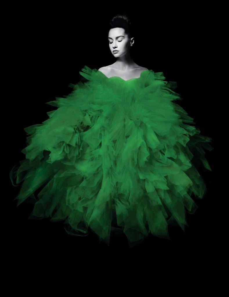 sposaitalia 2020 abito da sposa green