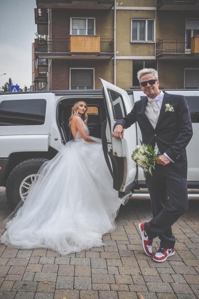 matrimonio street wear federica petri