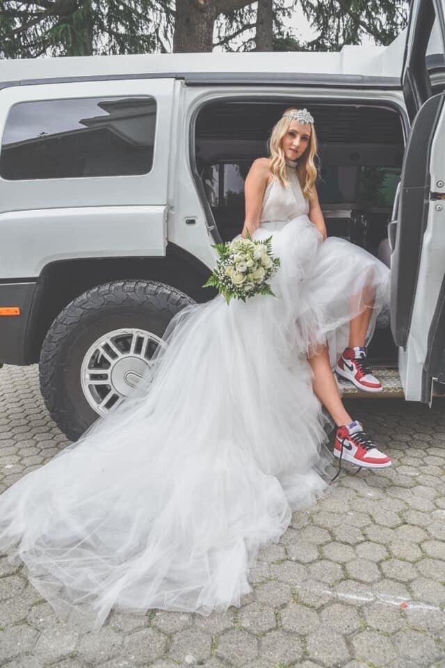 matrimonio street wear abito da sposa di federica petri