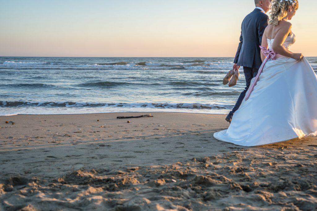 Laguna Blu Wedding Events, Roma Sposa. Sposi sulla spiaggia