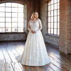Sposa curvy: come scegliere l'abito da sposa