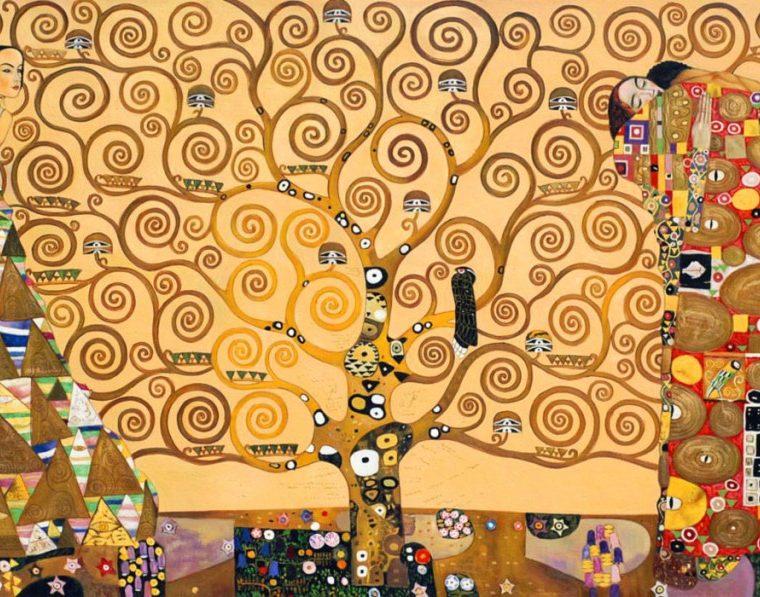 albero della vita, Gustave Klimt