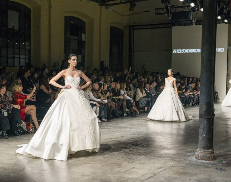 Marcela de Cala ad Altaroma con una collezione di 20 abiti da sposa